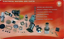 Electrical motors and parts