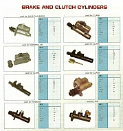 Thắng ly hợp - Brake and Clutch Cylinders