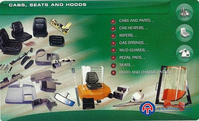 Cabs, seats and hoods