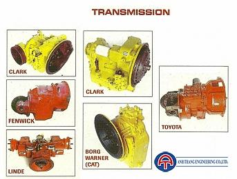 Cầu trước và sau - Transmission